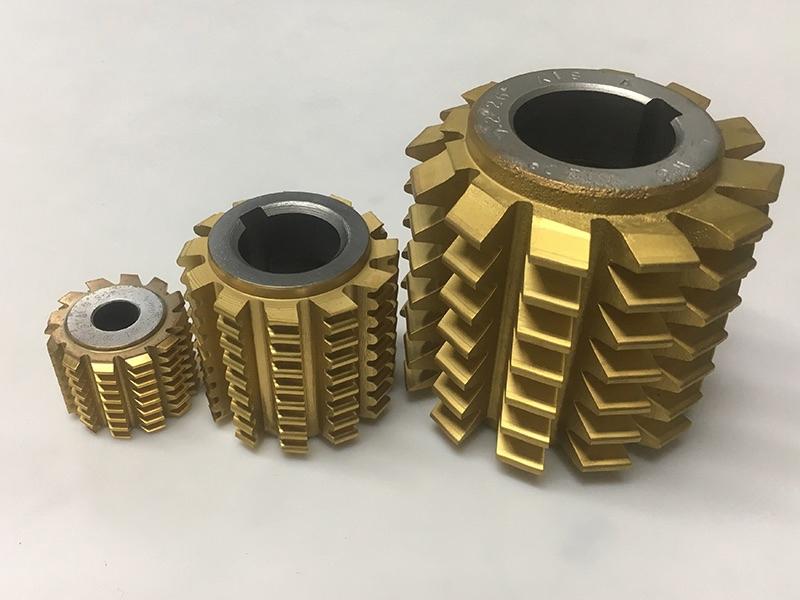 TIN氮化钛滚齿刀应用